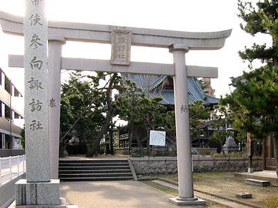 本馬越諏訪神社