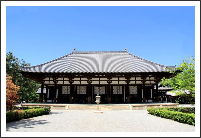 唐招提寺金堂(奈良県)