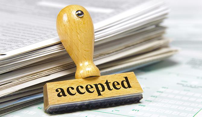 申請書許可のイメージ
